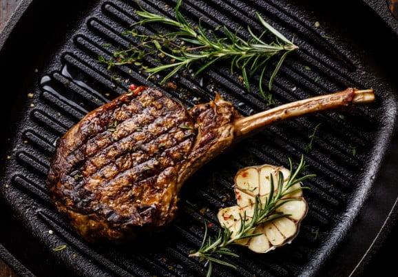 Vlees op de gril